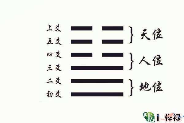 六爻爻位三才象义