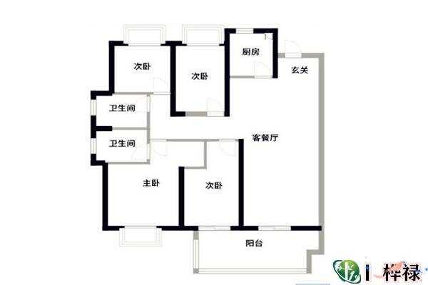 什么房子越住越富户型图  第3张
