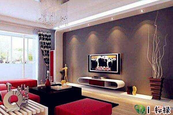 电视墙什么颜色聚财