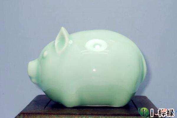 陶瓷猪储钱罐摆放风水  第1张