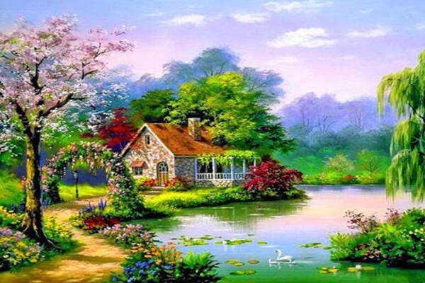 湖边的房子就一定风水好吗,哪种湖边的小区不能买  第3张