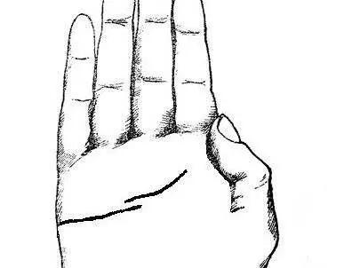 手相感情线看法技巧