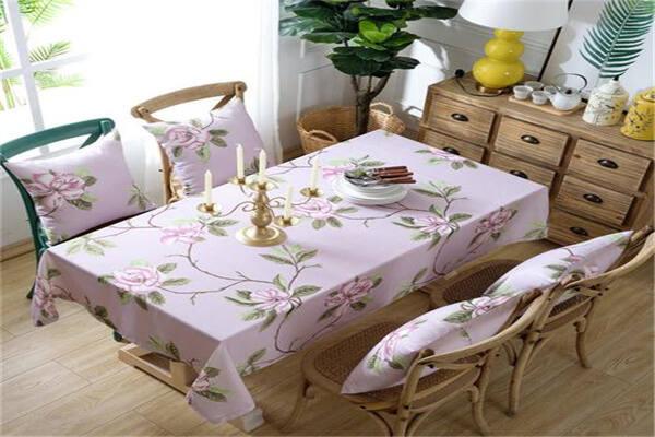 餐桌布选择风水