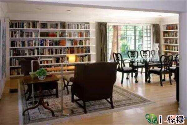房屋客厅放书架风水好吗