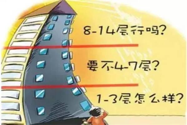 买楼风水:楼层选择风水